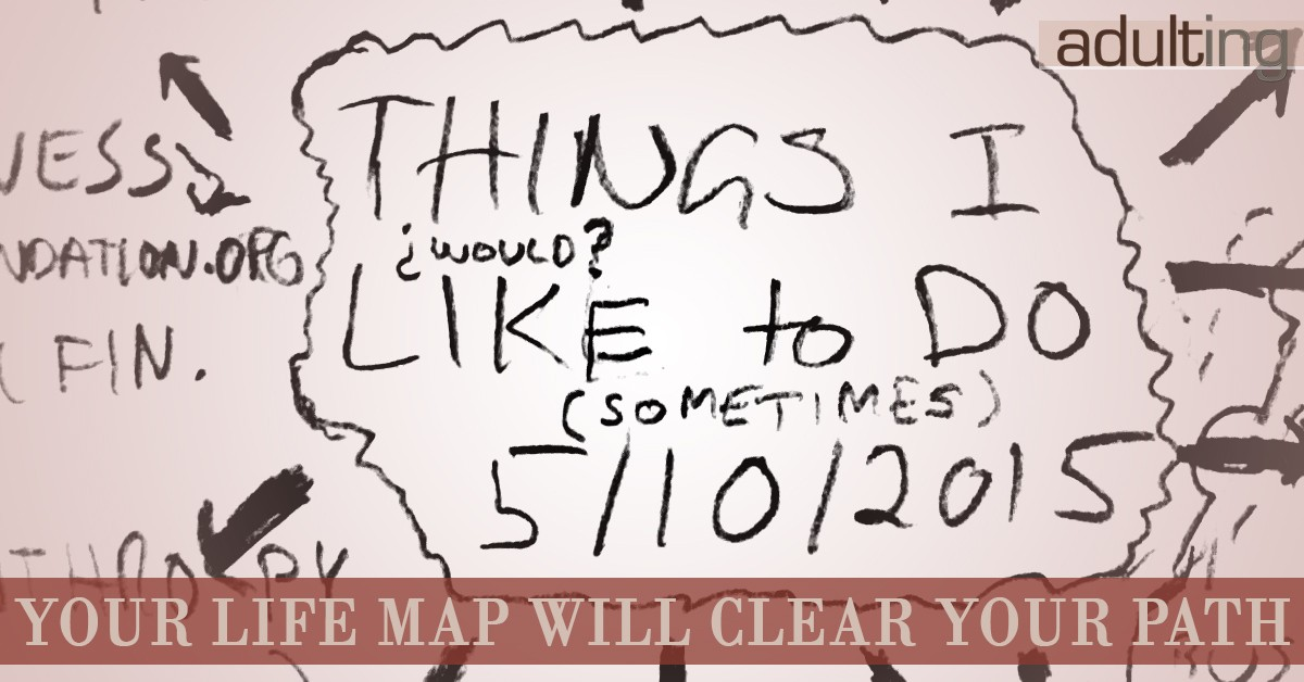 Your Life Map Will Clear Your Path