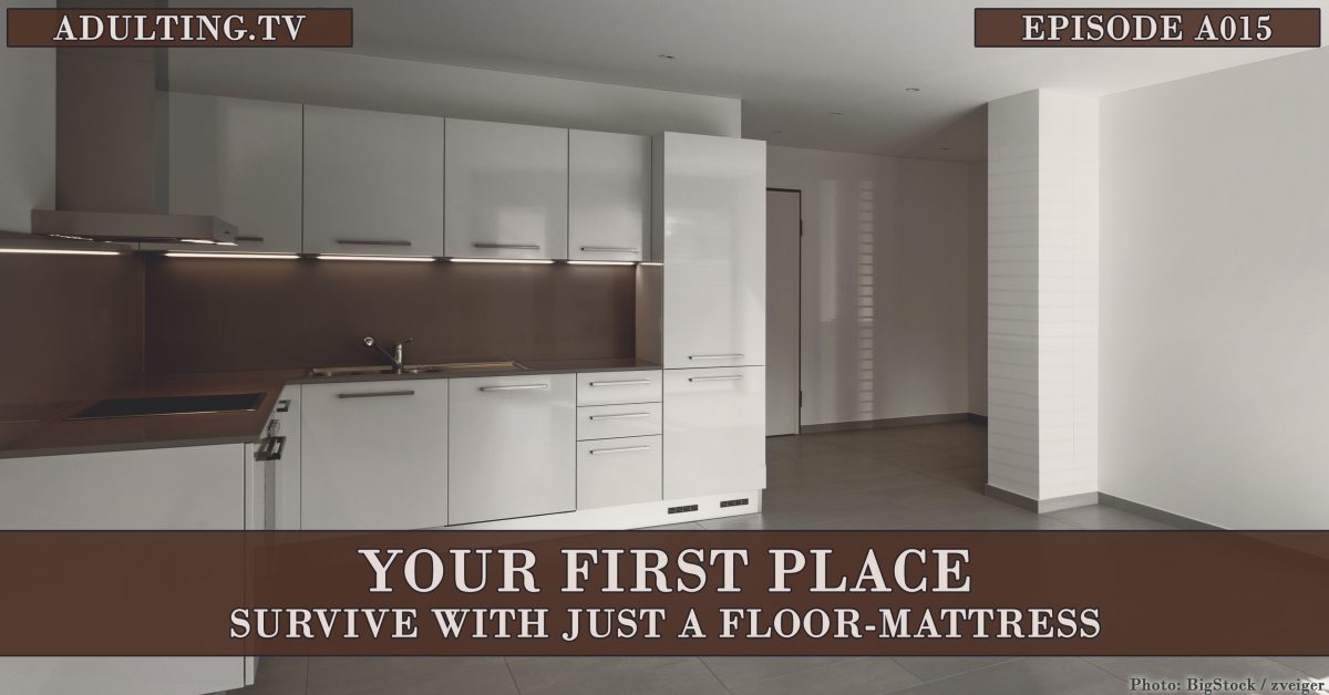 [A015] Your First Place: Survive With Just a Floor-Mattress