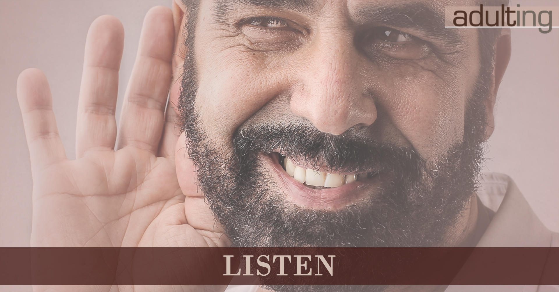 No More Textual Relations: Develop Meaningful Connections: Listen