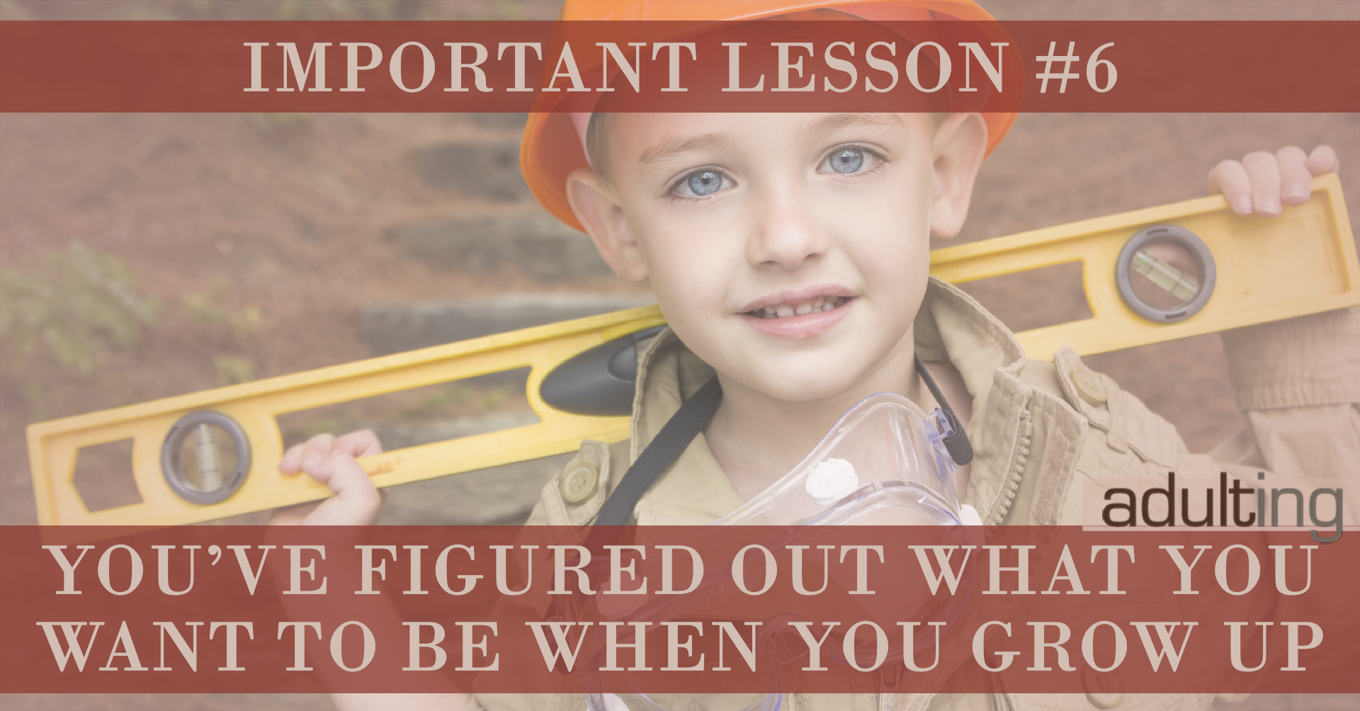 Important Lessons You Must Learn By 30