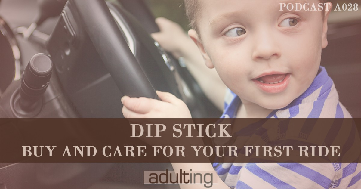 [A028] Dip Stick: Buy and Care For Your First Ride