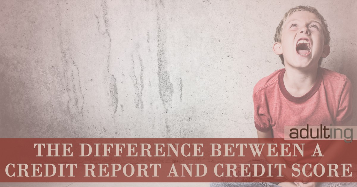 Here's the Difference Between a Credit Report and Credit Score