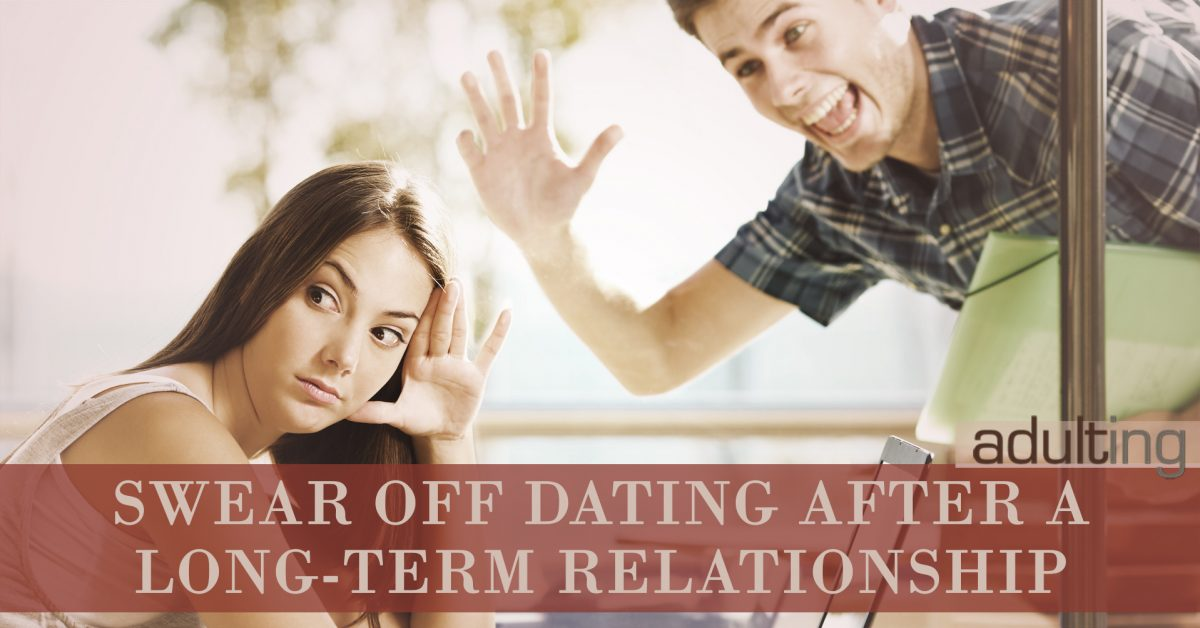 how long should you wait to start dating after a long term relationship
