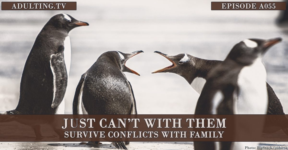 [A055] Just Can't With Them: Survive Conflicts With Family