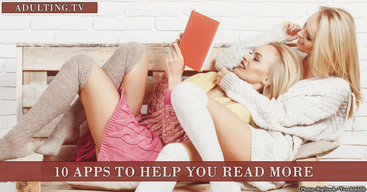 10 Apps to Help You Read More