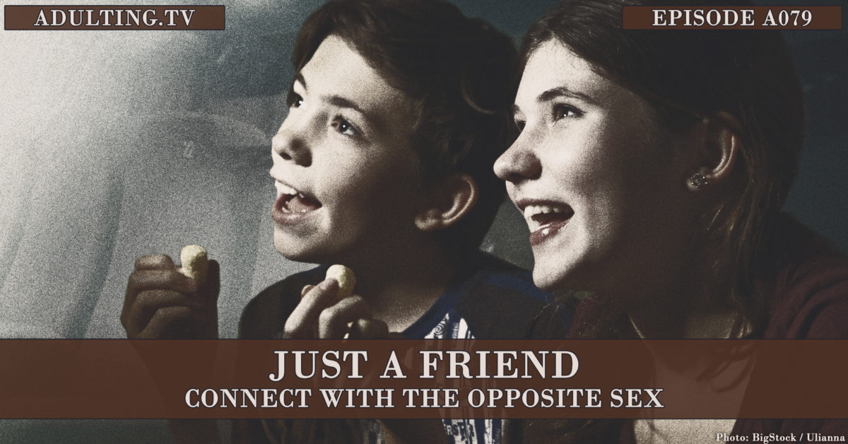 [A079] Just a Friend: Connect With the Opposite Sex