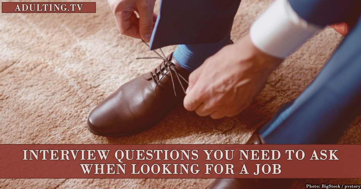 Interview Questions You Need to Ask When Looking for a Job