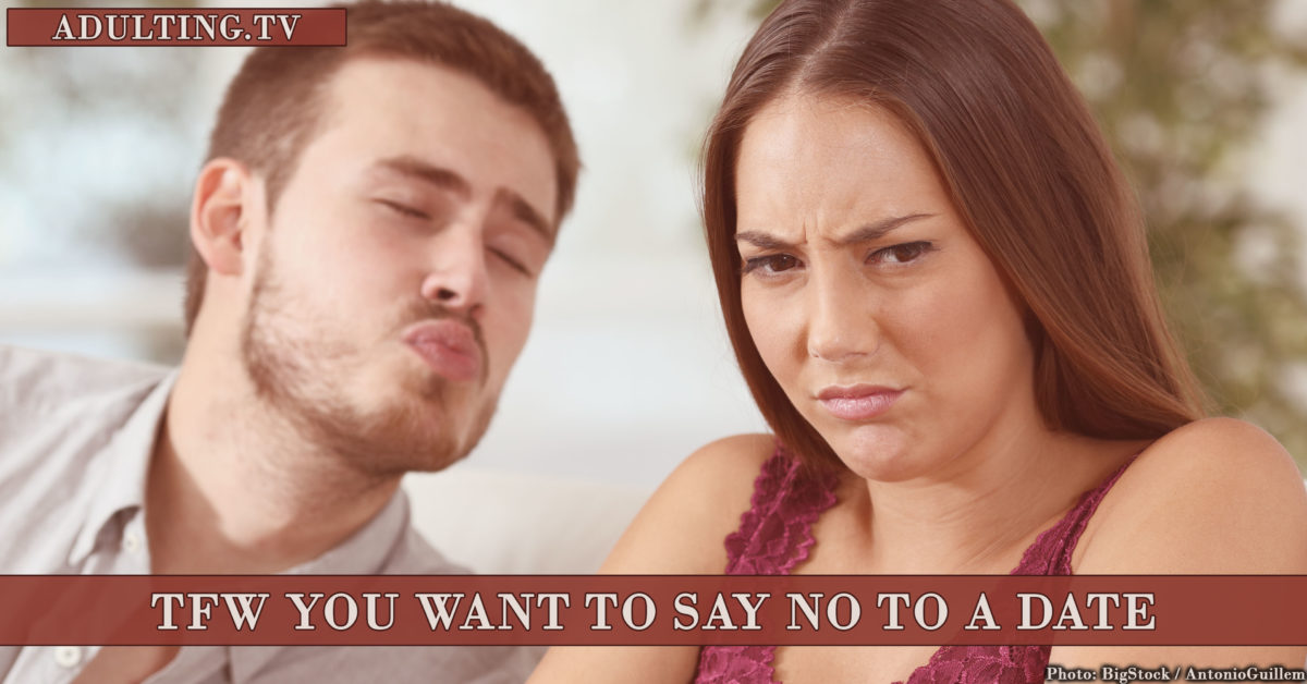 How to say no online dating