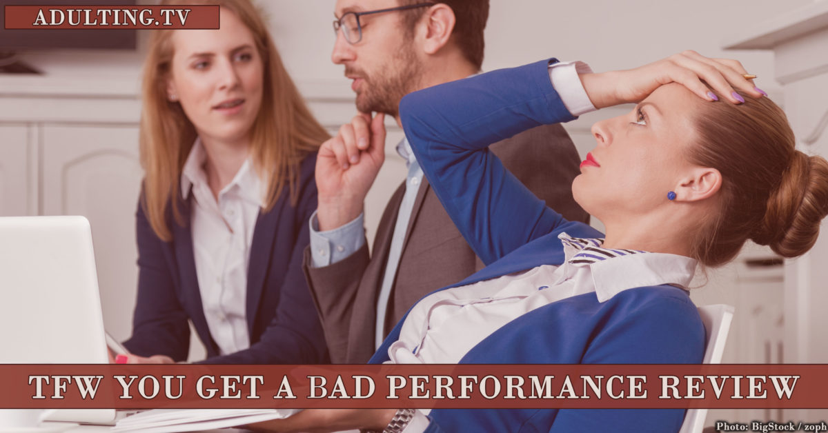 What to Do When You Get a Bad Performance Review