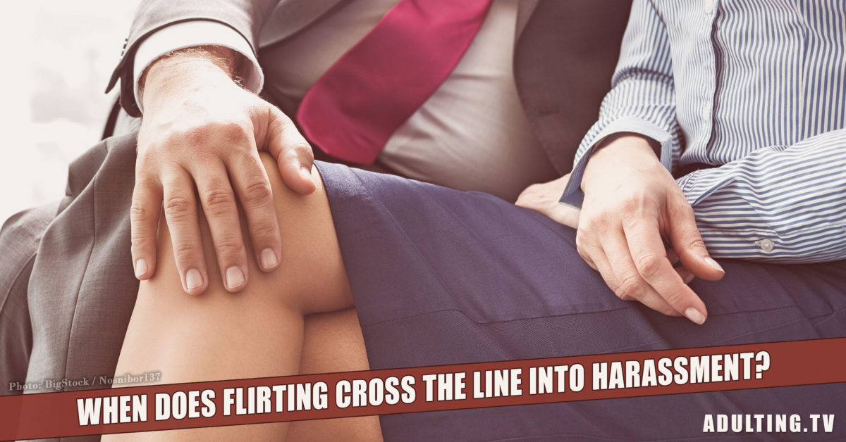 When Does Flirting Cross the Line Into Harassment?