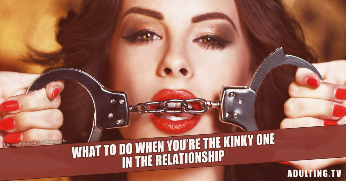 What to Do When You're the Kinky One in the Relationship