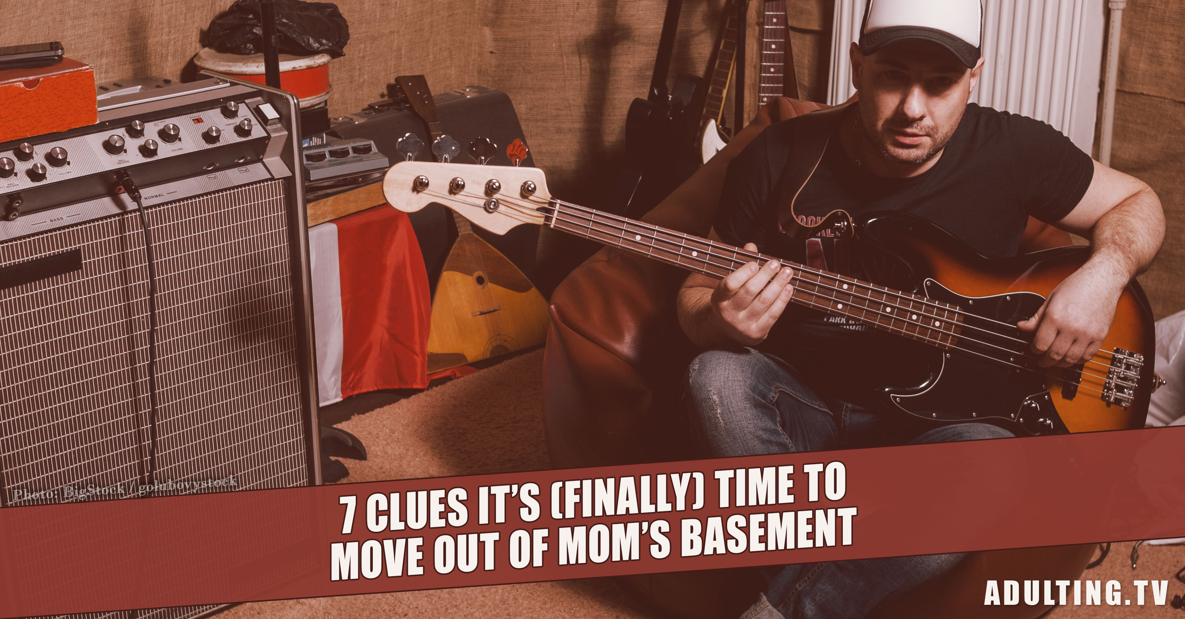 7 Clues It s Finally Time to Move Out of Mom s Basement